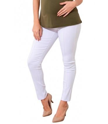 Pantalón de embarazo Tokio color Blanco