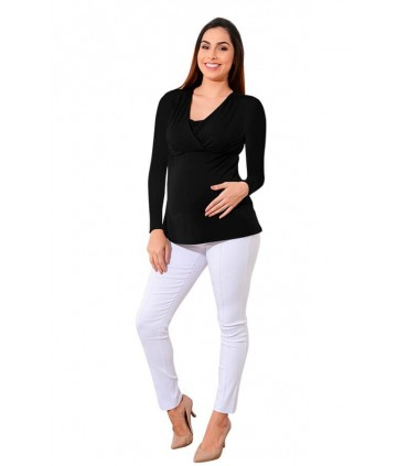 Polo de lactancia Sophie ML Negro
