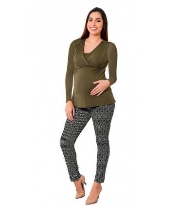 Pantalón de embarazo Tokio estampado Manchas Indira
