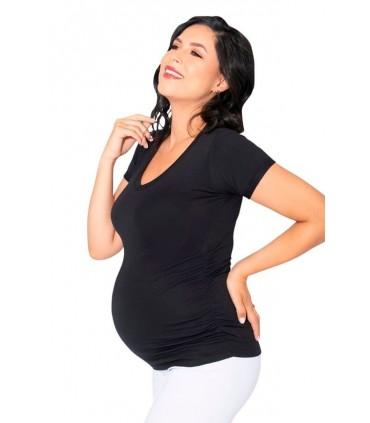 Polo de maternidad Cindy Negro