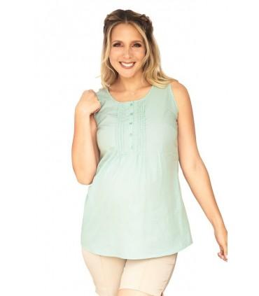 Blusa de Maternidad y lactancia Eda Rombos