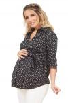 Blusa de Maternidad y lactancia Donatella Notas Musicales