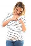 Polo de Maternidad y Lactacia Raquel Verde Militar