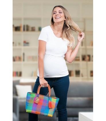 Polo de Maternidad y Lactacia Carmen MC Blanco