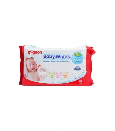 Toallitas Húmedas Baby Wipes Pigeon 3 x 82wipes