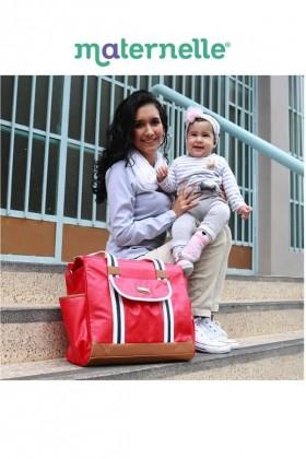 Bolso de Paseo Rojo Maternelle
