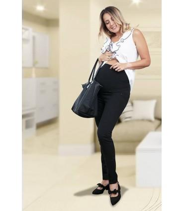 Jeans de Maternidad Denim Negro