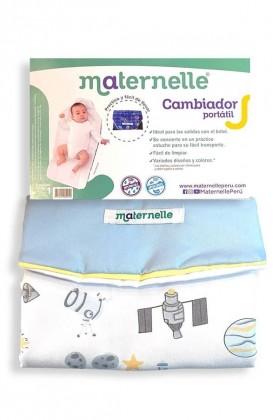 Cambiador Portátil Maternelle azul