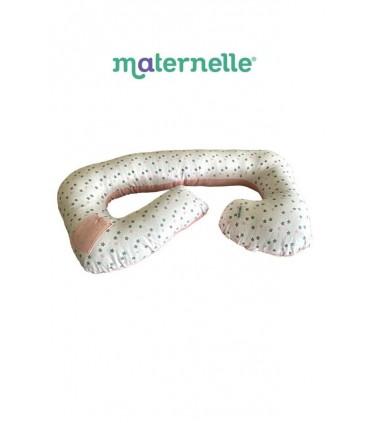 Cojín Multifuncional Rosa Maternelle