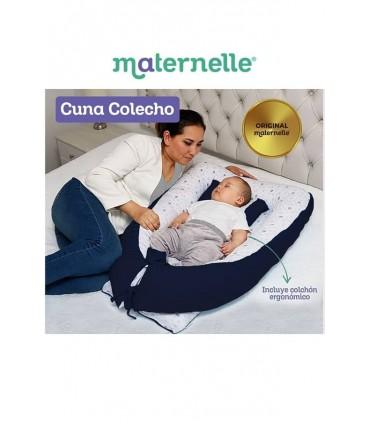 Cuna Colecho Azul Maternelle