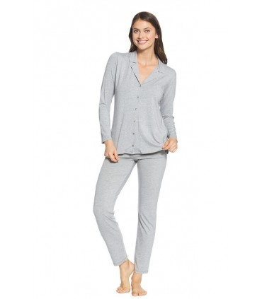 Pijama con Pantalón Brenda melange