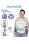 Mochila Ergonómica Evolutiva Maternelle Print Unicornios