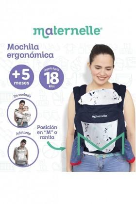 Mochila Ergonómica Evolutiva Maternelle Print Animales