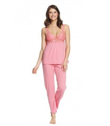 Pijama con Pantalón Penélope Coral
