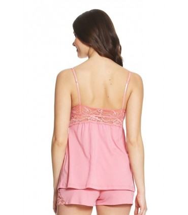 Pijama con Short Penélope Coral