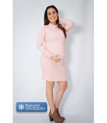 Vestido de Maternidad Rouss Rosa