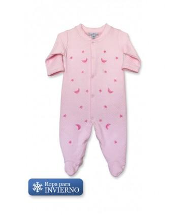 Enterizo de Bebé Lunas Rosa Baby Lab