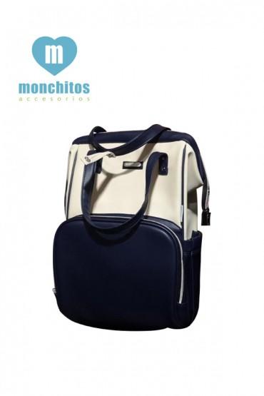 Mochila Pañalera Monchitos