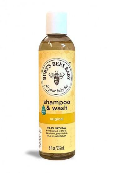 Shampoo & jabón para el cuerpo del Bebe