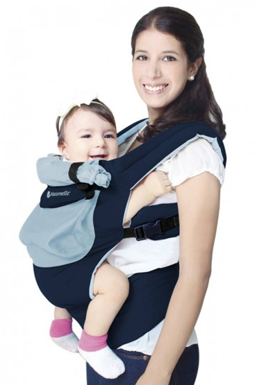 Mochila Ergonomica Evolutiva Maternelle Celeste y azul