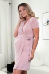 Vestido de Maternidad y Lactancia Divine Rosa