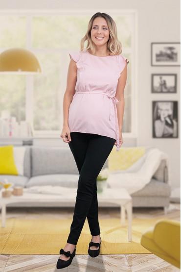 Blusa de Maternidad y Lactancia Poly Rosa