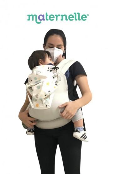 Mochila Ergonomica Evolutiva 4 en 1 Maternelle Beige