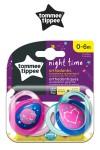 "Chupones ""Night Time"" Tommee Tippee rosado de 0 - 6 meses"