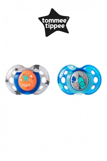 Chupones Night Time  azul de 18 - 36 meses Tommee Tippee