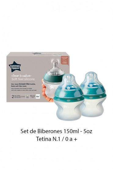 Biberones Closer to Nature Silicona - 5oz