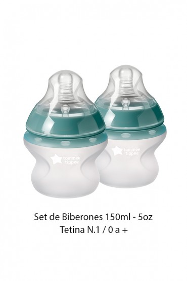 Biberones Closer to Nature Silicona Tommee Tippee - 5oz