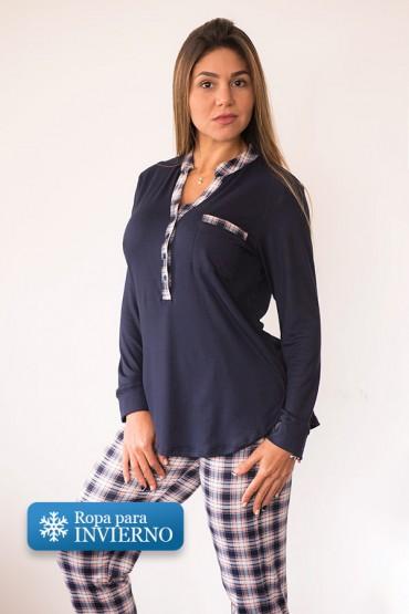 Pijama Eileen Cuadros Rosa
