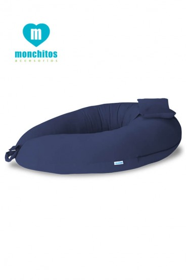 Bummer Pillow Azul Monchitos