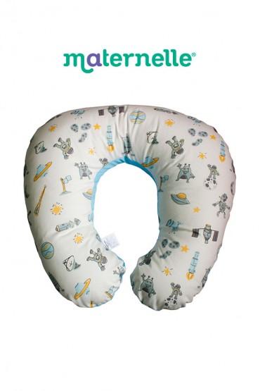 Almohada de Lactancia 5 en 1 azul Maternelle