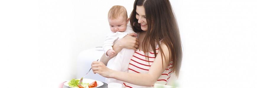 Dieta nutritiva durante la lactancia