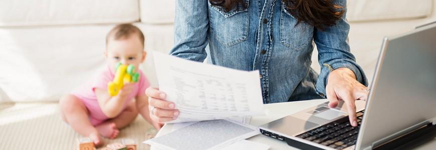 6 Tips para mamás que trabajan desde casa